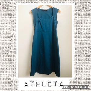 Athleta Dark Teal Stretch Dress 💗